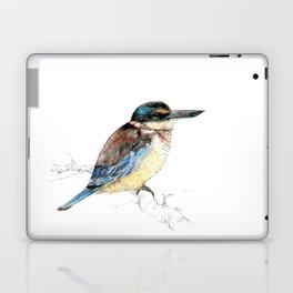 Mr Kōtare, New Zealand native kingfisher bird Laptop & iPad Skin