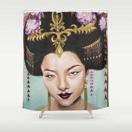 Wu Zetian Shower Curtain