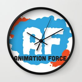 Animation Force Logo Wall Clock