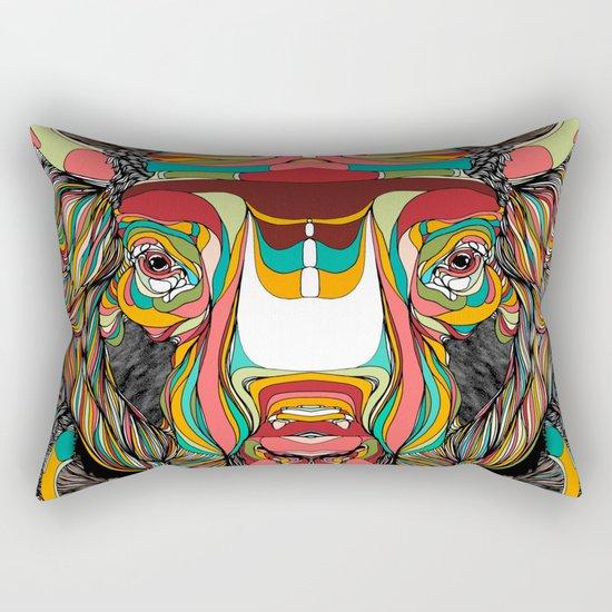 Bison (Feat. Bryan Gallardo) Rectangular Pillow