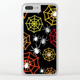 Creepy Crawlers Clear iPhone Case