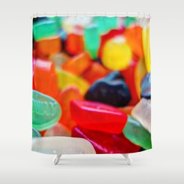 Sweets 01 | Wine Gums Shower Curtain