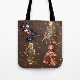 Dragon Age: Origins Companions Tote Bag