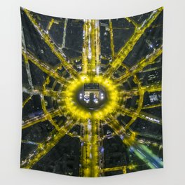 Mid summer's dream in Paris Wall Tapestry