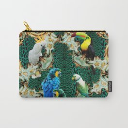 Exotic Aviary Carry-All Pouch
