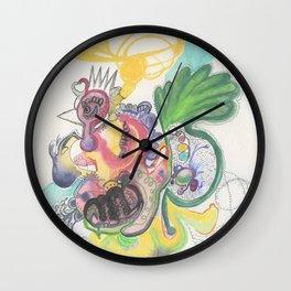 Fancy-ass Bird Wall Clock