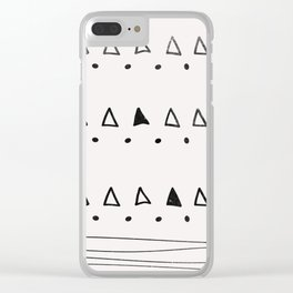 Coit Pattern 13 Clear iPhone Case