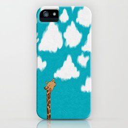 Cloud Diet iPhone Case