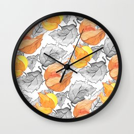 The Physalis Wall Clock