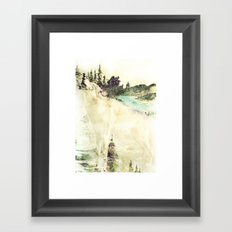 Wild Wolves Framed Art Print