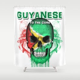 To The Core Collection: Guyana Shower Curtain