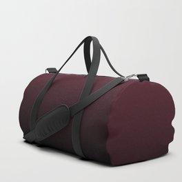 Burgundy Wine Ombre Gradient Duffle Bag