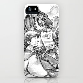 Tiger Riders iPhone Case