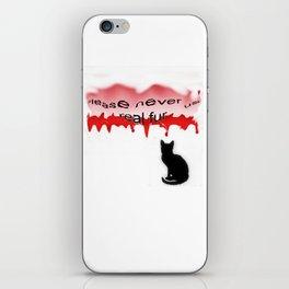 Never real fur iPhone Skin