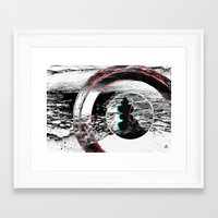 solid Framed Art Prints featuring Solid by ChiTreeSign