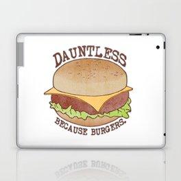 Dauntless - Because Burgers Laptop & iPad Skin