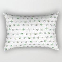Succulents on a String Rectangular Pillow