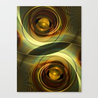 infinity Canvas Prints featuring Infinity by Klara Acel