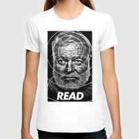 hemingway T-shirts featuring Hemingway  by Ugly Borealis