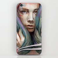 oil iPhone & iPod Skins featuring Onawa by Michael Shapcott