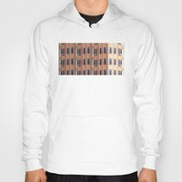 building Hoodies featuring Building to Building: Church by theartistmakena