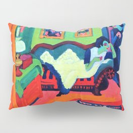 Interieur With Two Girls - Digital Remastered Edition Pillow Sham