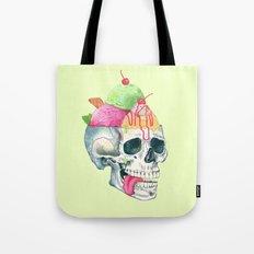 brain freeze Tote Bag