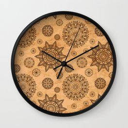 format decorated Wall Clock