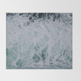 Wonderful Waves Throw Blanket