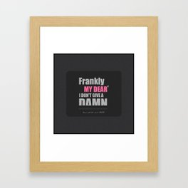 My Dear Framed Art Print