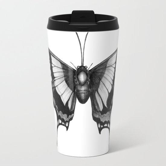 Butterfly Wings Metal Travel Mug