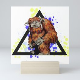Ludo Triangle Mini Art Print