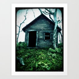 the shack Art Print