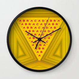 The magic word Wall Clock
