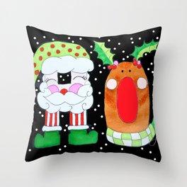 HO! Throw Pillow