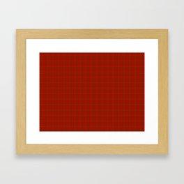 MacNab Tartan Framed Art Print