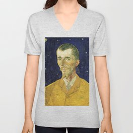 Vincent Van Gogh - Eugene Boch Unisex V-Neck