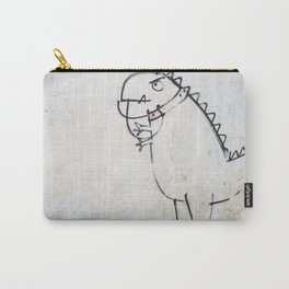 The dinosaur ate his owner Carry-All Pouch