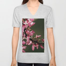 Cercis canadensis 'Forest Pansy' Unisex V-Neck