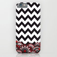 Floral Chevron. iPhone 6s Slim Case