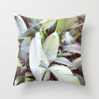 jungle Throw Pillows featuring Jungle by Gabriela Fuente