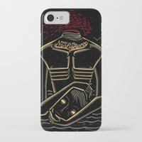 camus iPhone & iPod Cases featuring the stranger - camus by miles to go