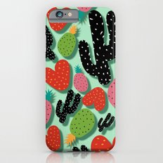 Cactus Love and Pineapples iPhone 6s Slim Case