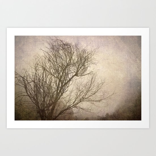 """""""Branches in the wind"""" Art Print"""