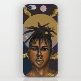 Afrocosmos II iPhone Skin