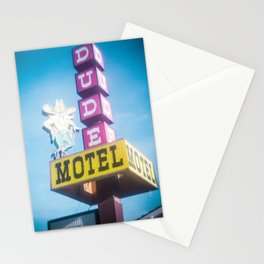Dude Motel Stationery Cards