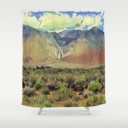 Sierra Nevada II Shower Curtain
