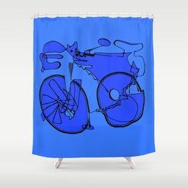 10-Speed -- Take 2 Shower Curtain