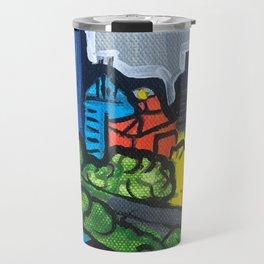 Brisbane City Painting Series Travel Mug
