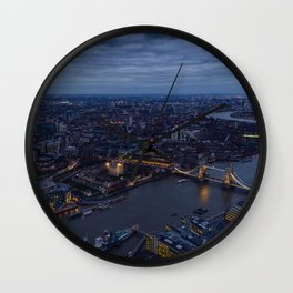 Brige Tower In London Wall Clock
